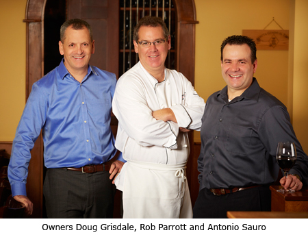 Owners Doug Grisdale, Rob Parrott and Antonio Sauro